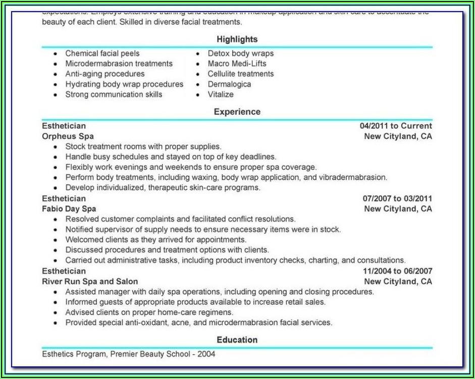 Resume Writing Programs
