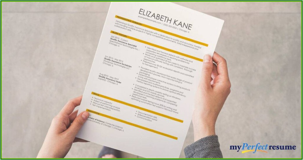 Should I Print My Resume On Nice Paper