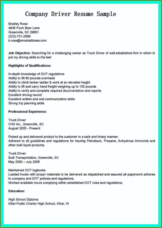 Simple Resume Making