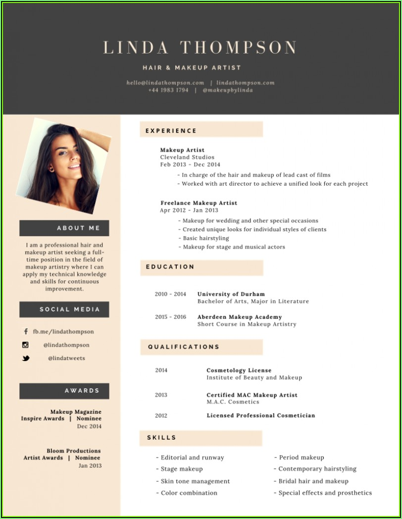 Templates For Professional Resume
