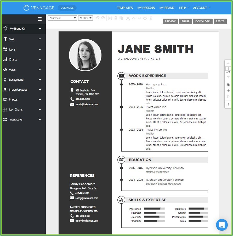 Top 10 Resume Builder 2019