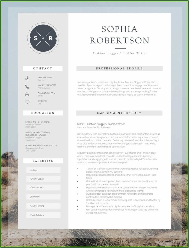 Top Ten Creative Resumes