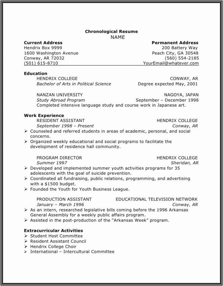 Va Wizard Resume Builder