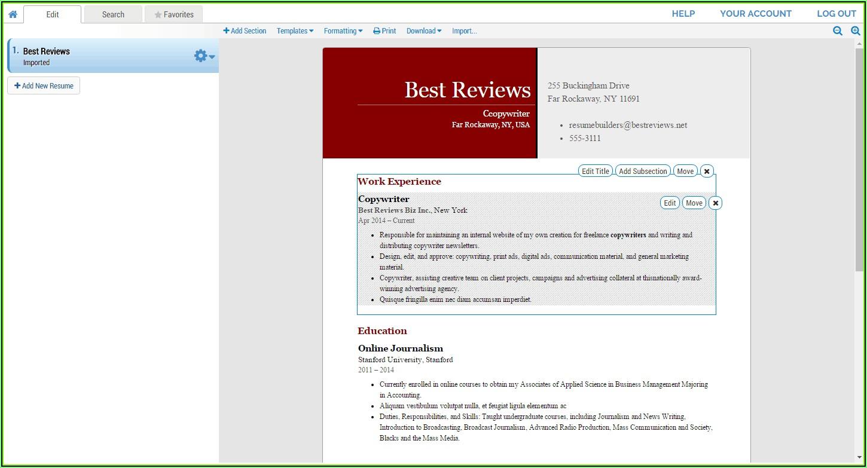 Winway Resume Deluxe 14 Free Download