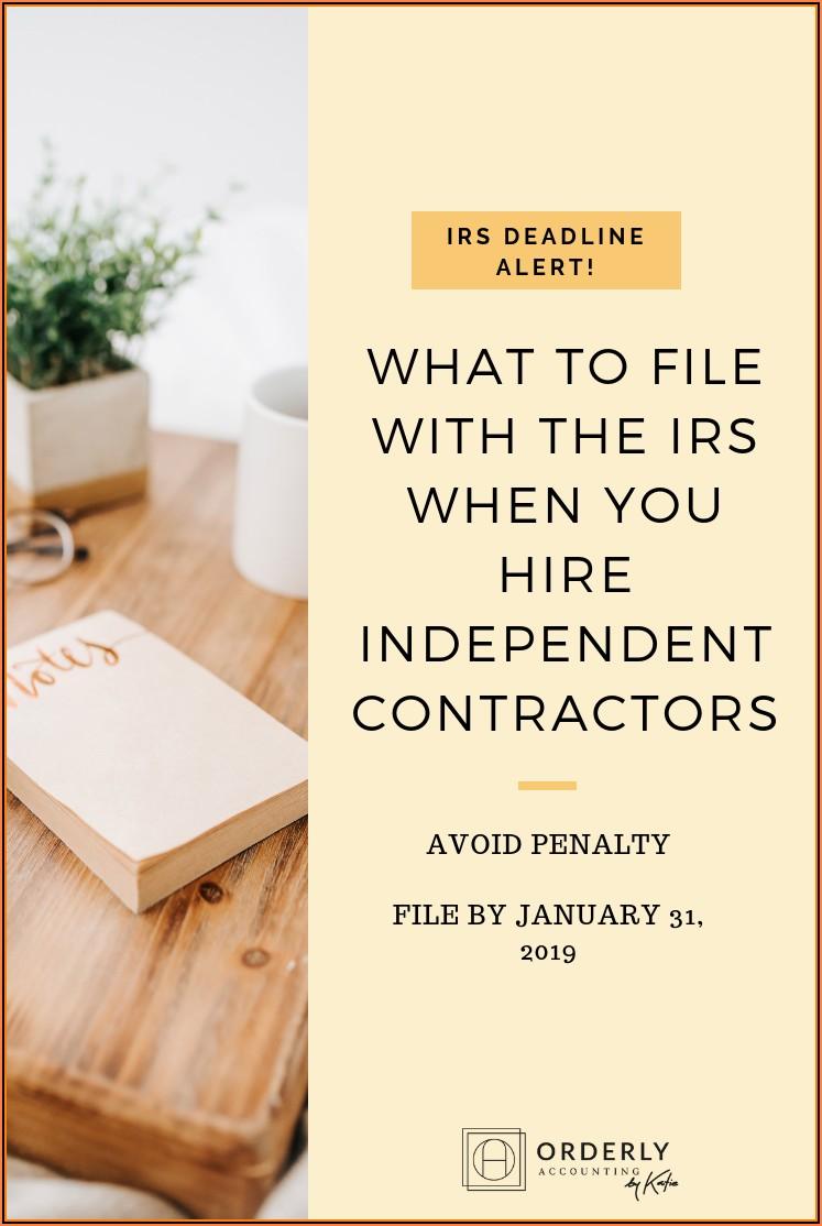 1099 Form Tax Deductions