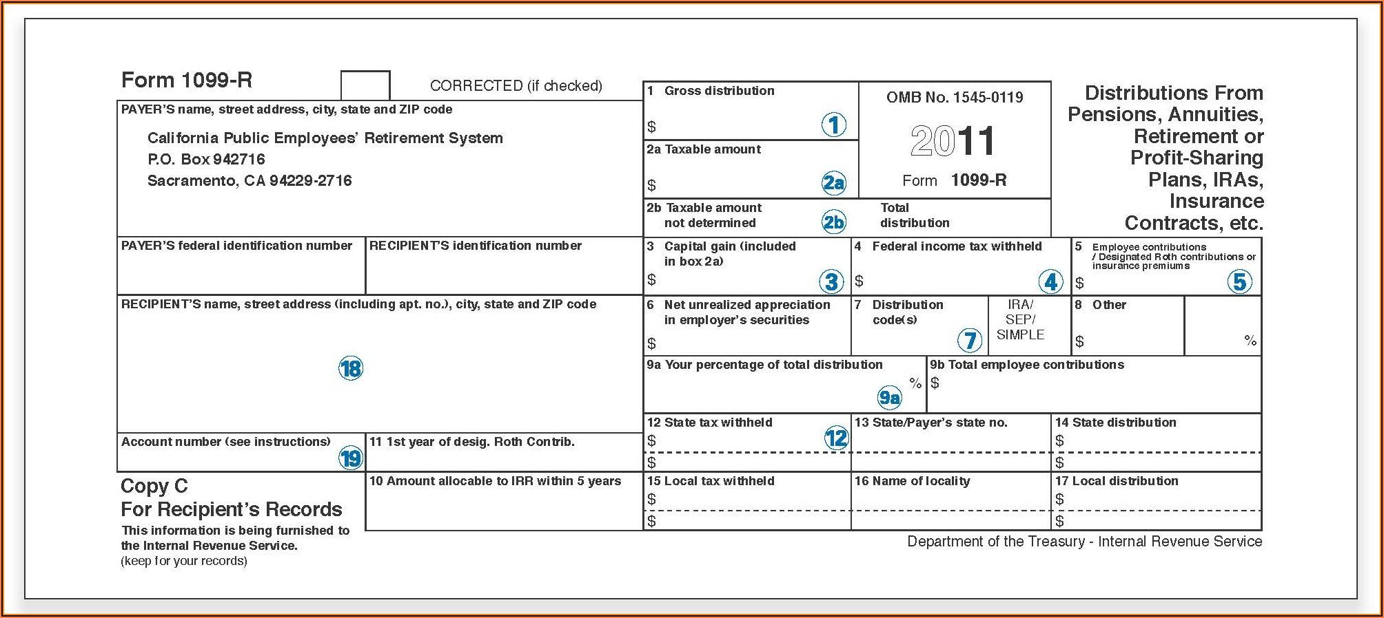 1099 Form Tax Id