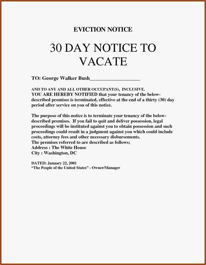3 Day Notice To Quit Form California