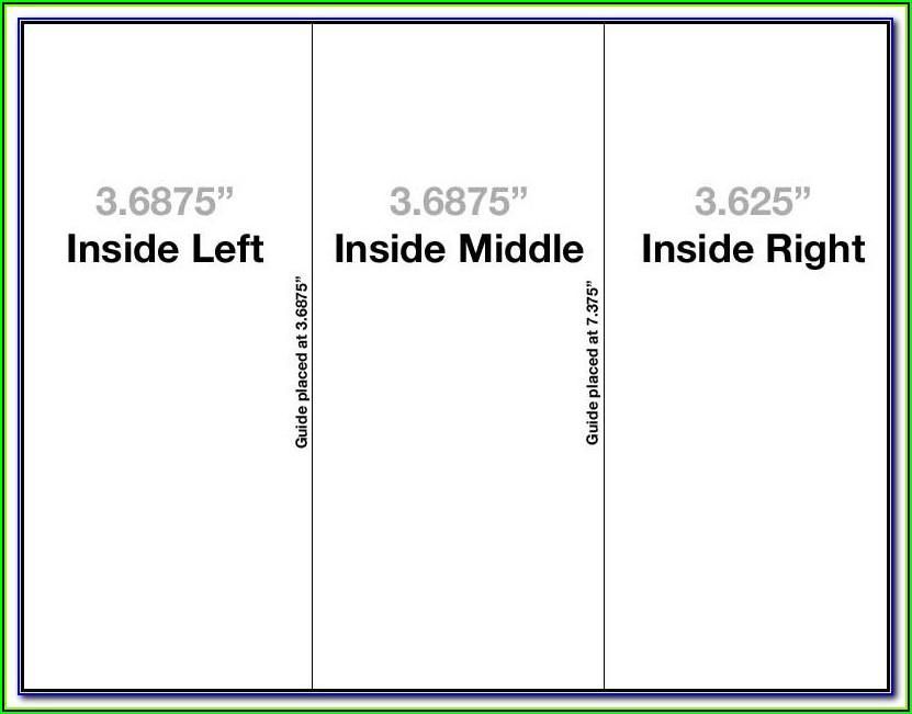 3 Fold Brochure Template Free Word