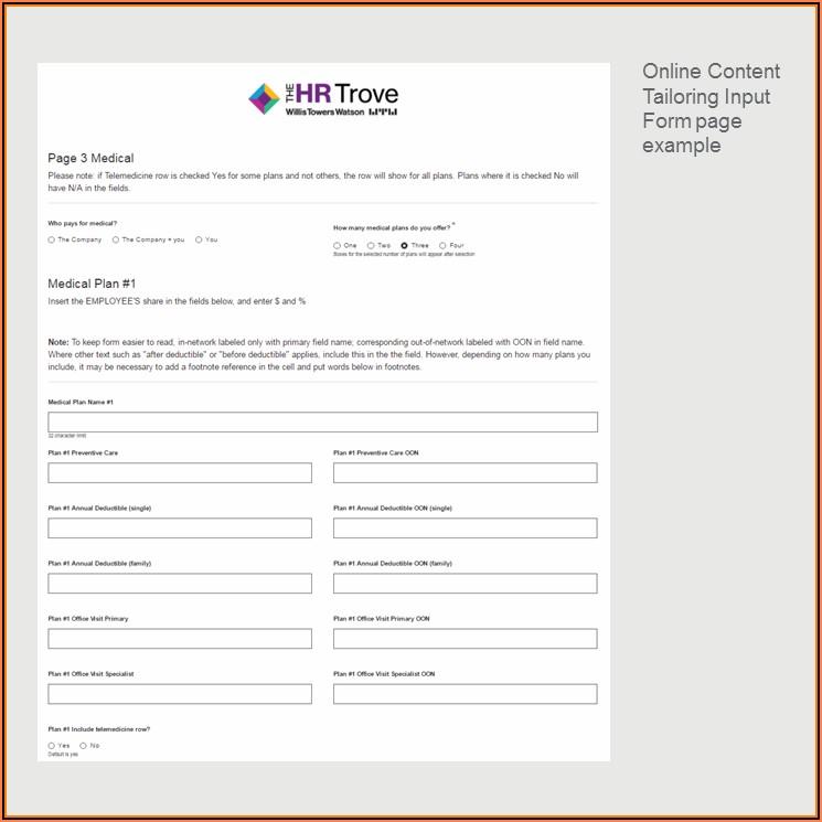 401k Enrollment Form Pdf