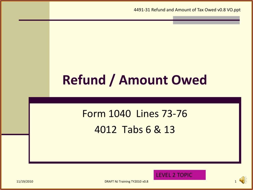 Aarp Overpayment Refund Form