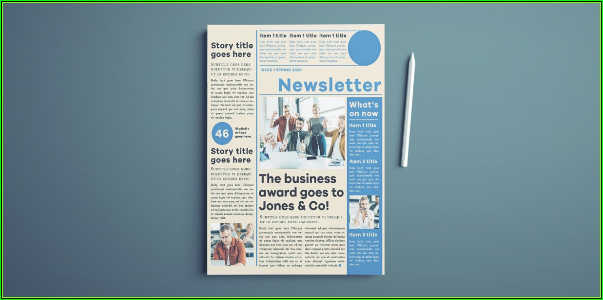 Adobe Indesign Cs6 Newsletter Templates Free
