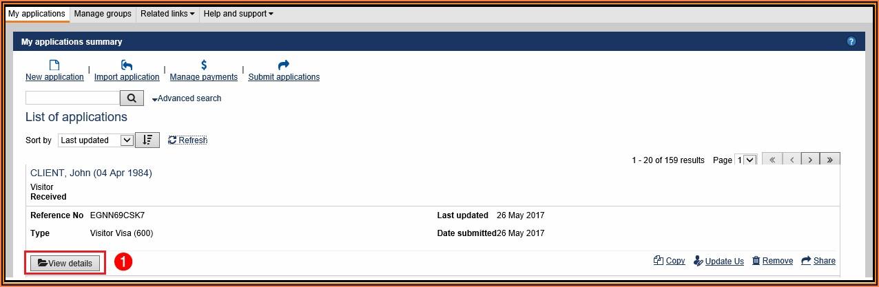 Australian Student Visa Online Application Form