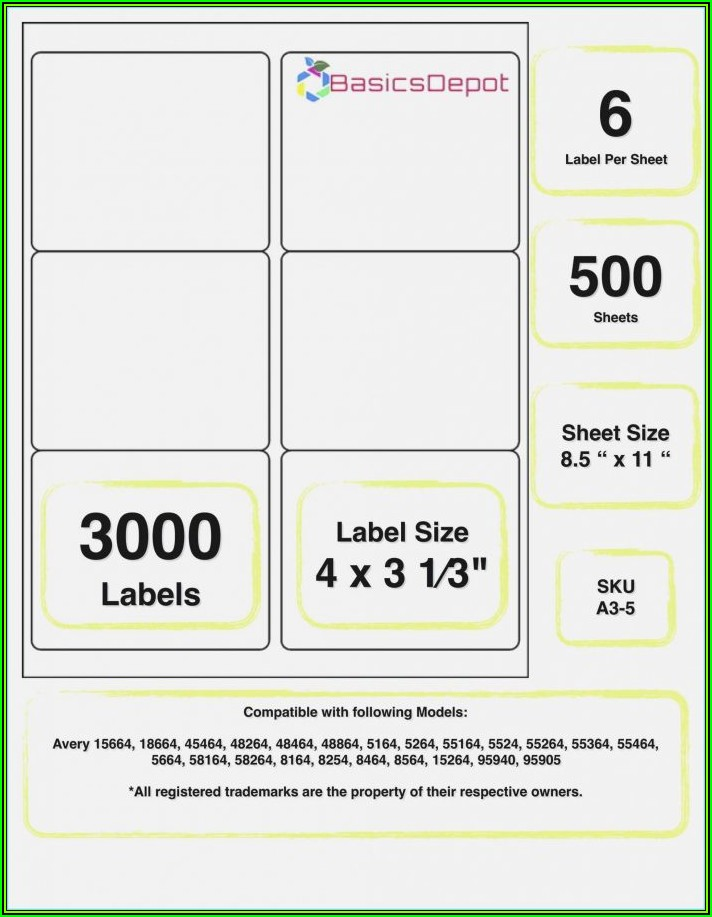 Avery 31 Tab Template