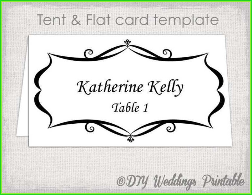 Avery Tent Card Templates