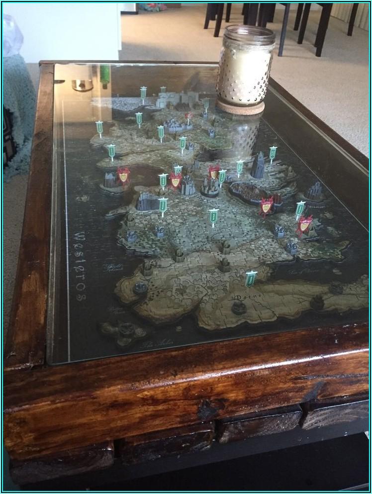 Bathymetric 3d Wood Map