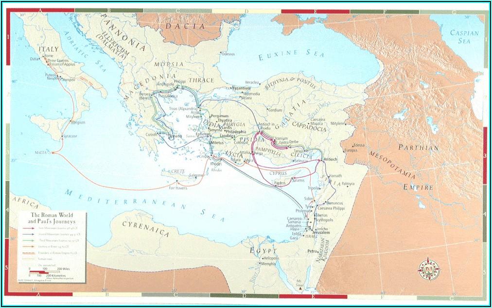 Bible Land Map Set