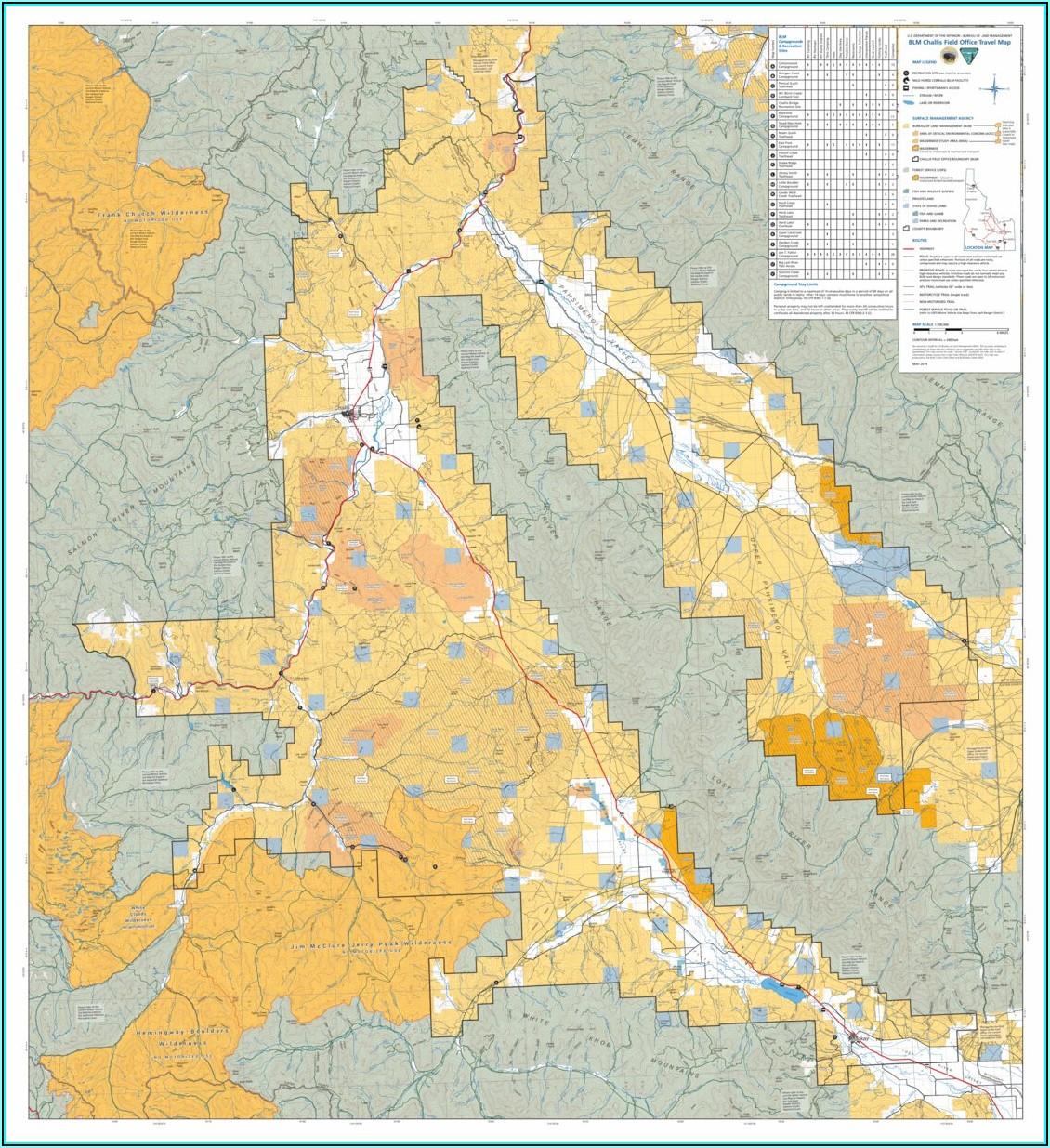 Blm Topo Maps Idaho