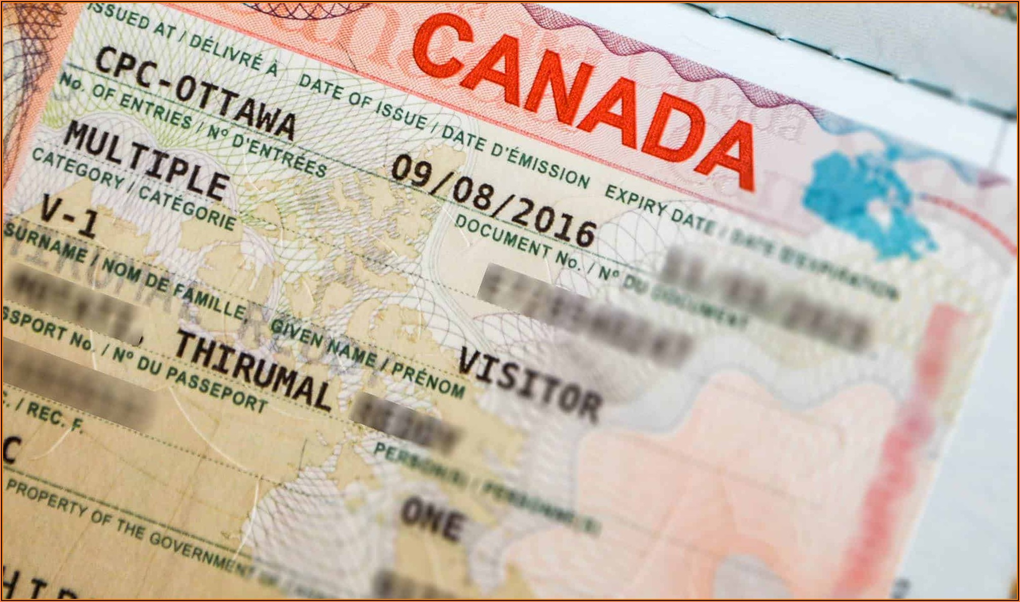 Canadian Visa Application Form For Nigerian Citizen