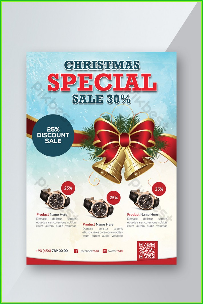 Christmas Flyer Psd Templates Free Download