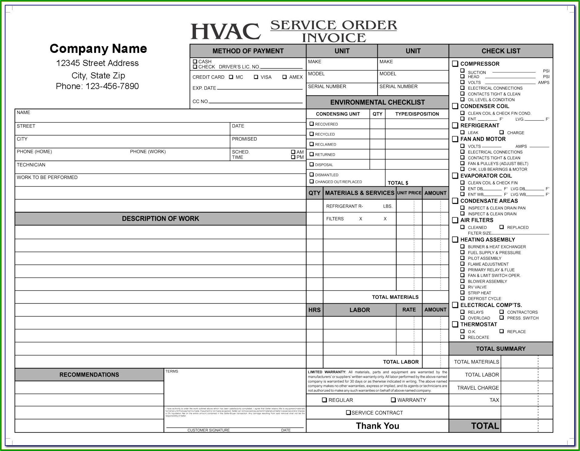 Cleaning Service Forms Templates