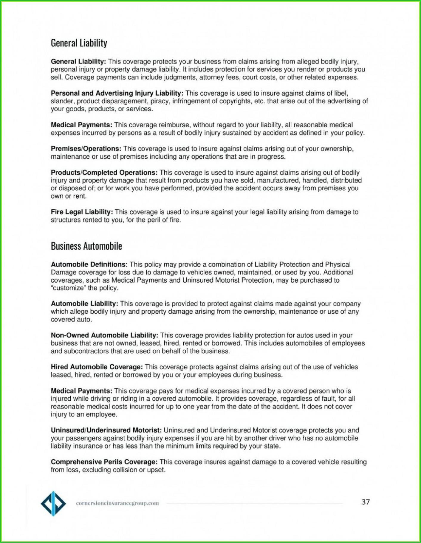Company Credit Card Policy Template Australia
