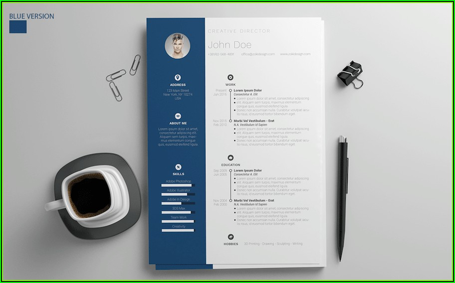 Creative Resume Templates Free Word