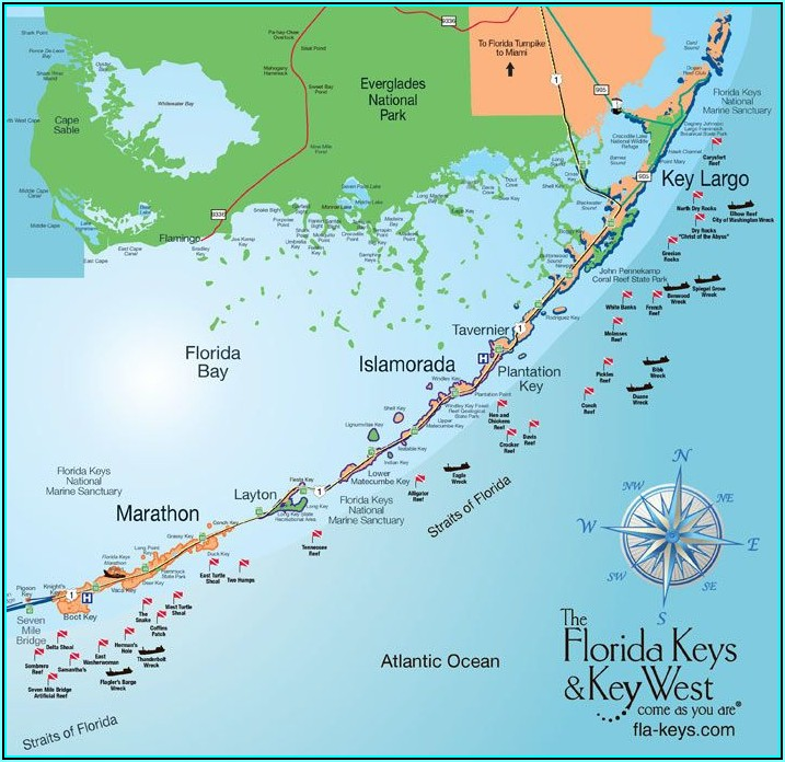 Florida Travel Guide Map