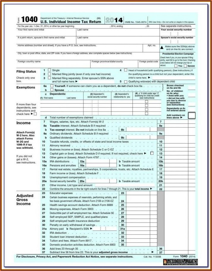Form 1099 Tax Return