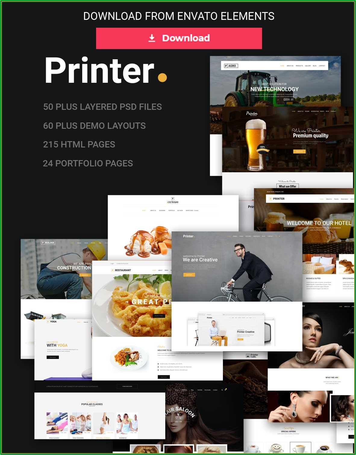 Free Download Html5 Css Responsive Website Templates