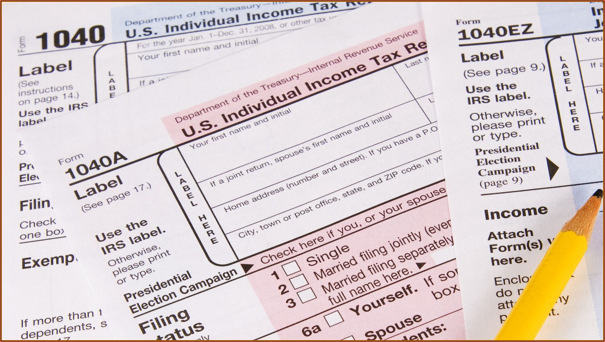 Free Ez Tax Forms