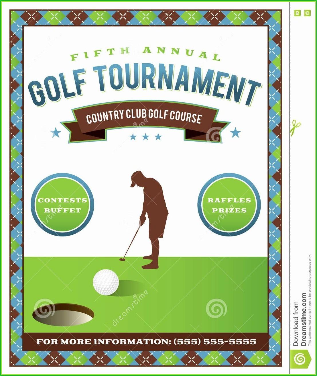 Free Golf Brochure Templates
