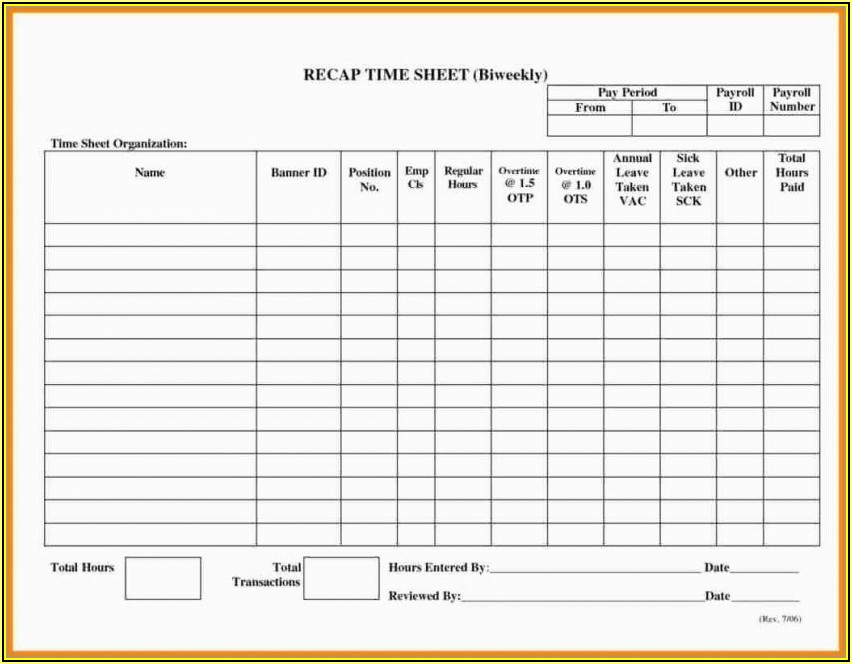 Free Pay Stub Template With Calculator Download