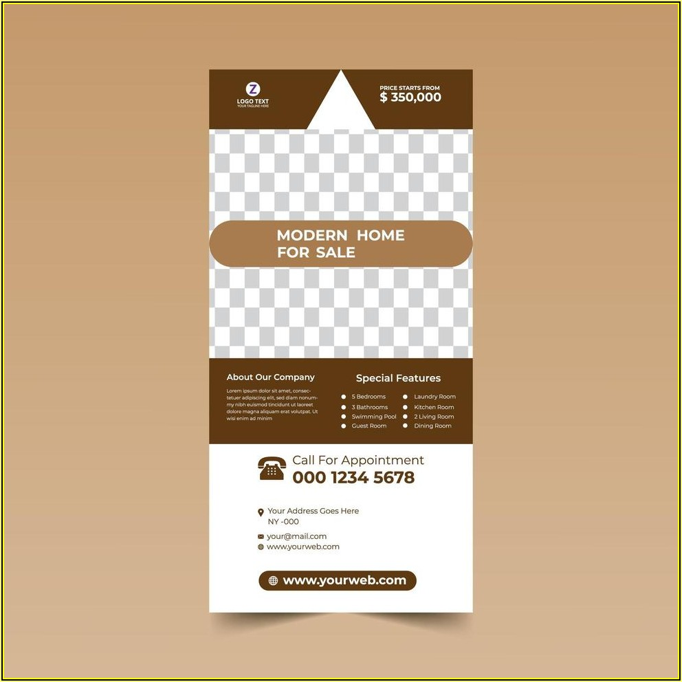 Free Rack Card Design Template