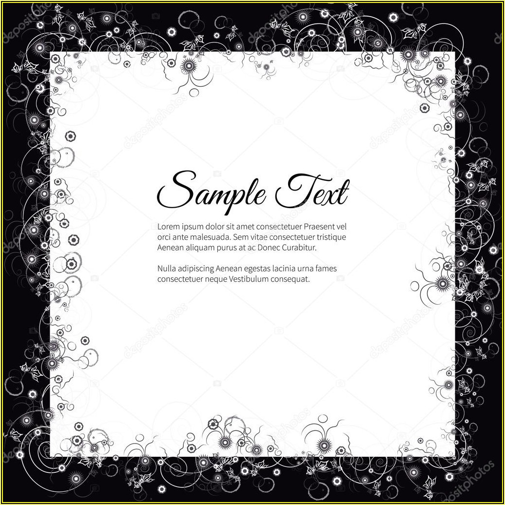 Funeral Invitation Template Free Word