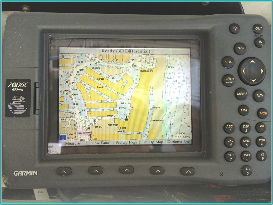 Garmin 2006c Map Cards