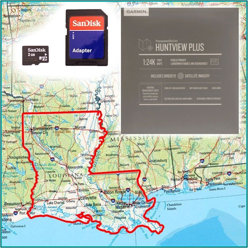 Garmin Alpha Map Cards