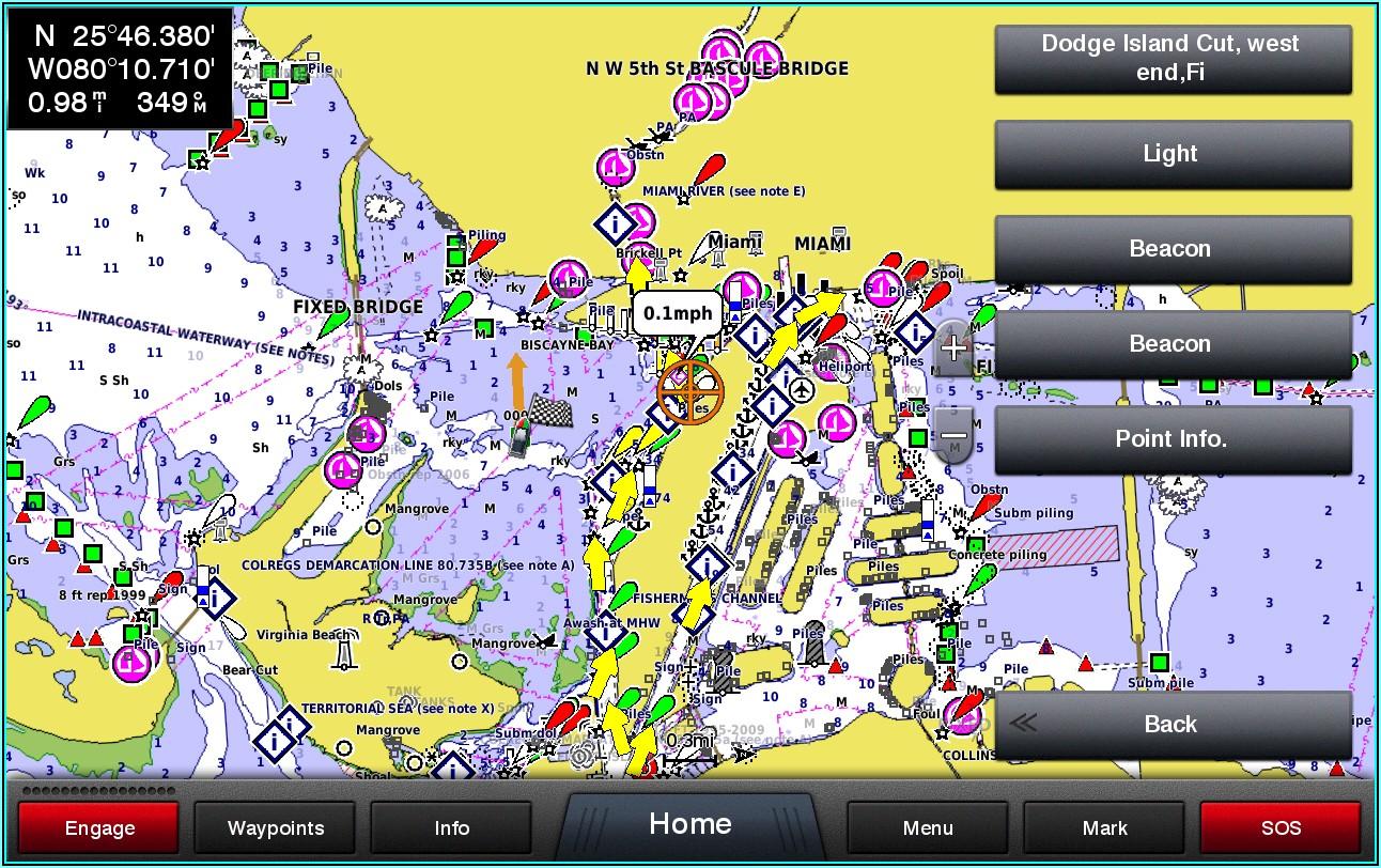 Garmin Chartplotter Map Updates