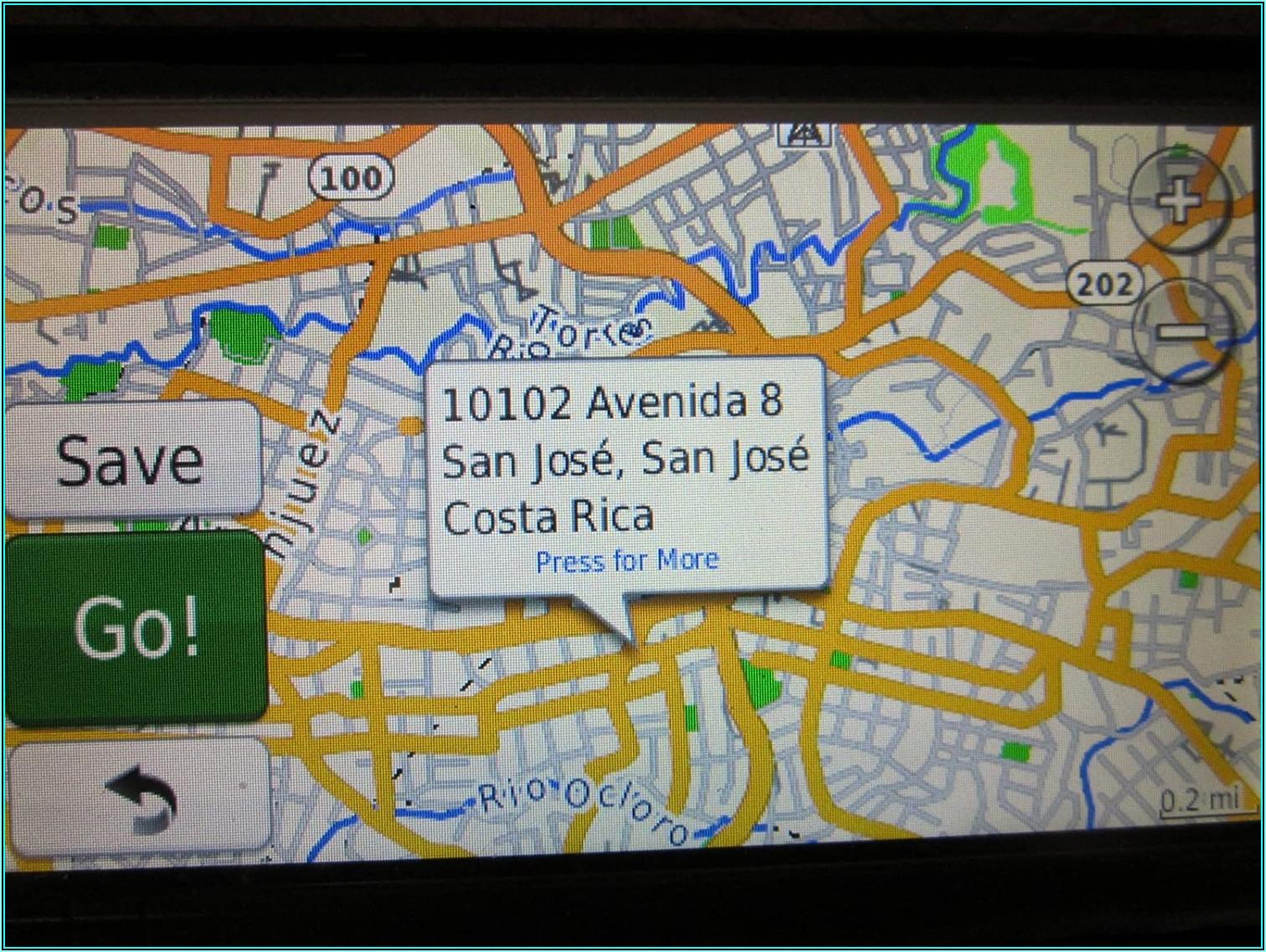 Garmin Costa Rica Map Download Free