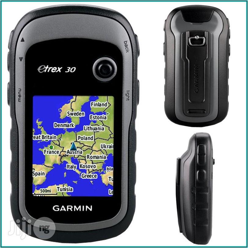 Garmin Etrex 30 Map Install