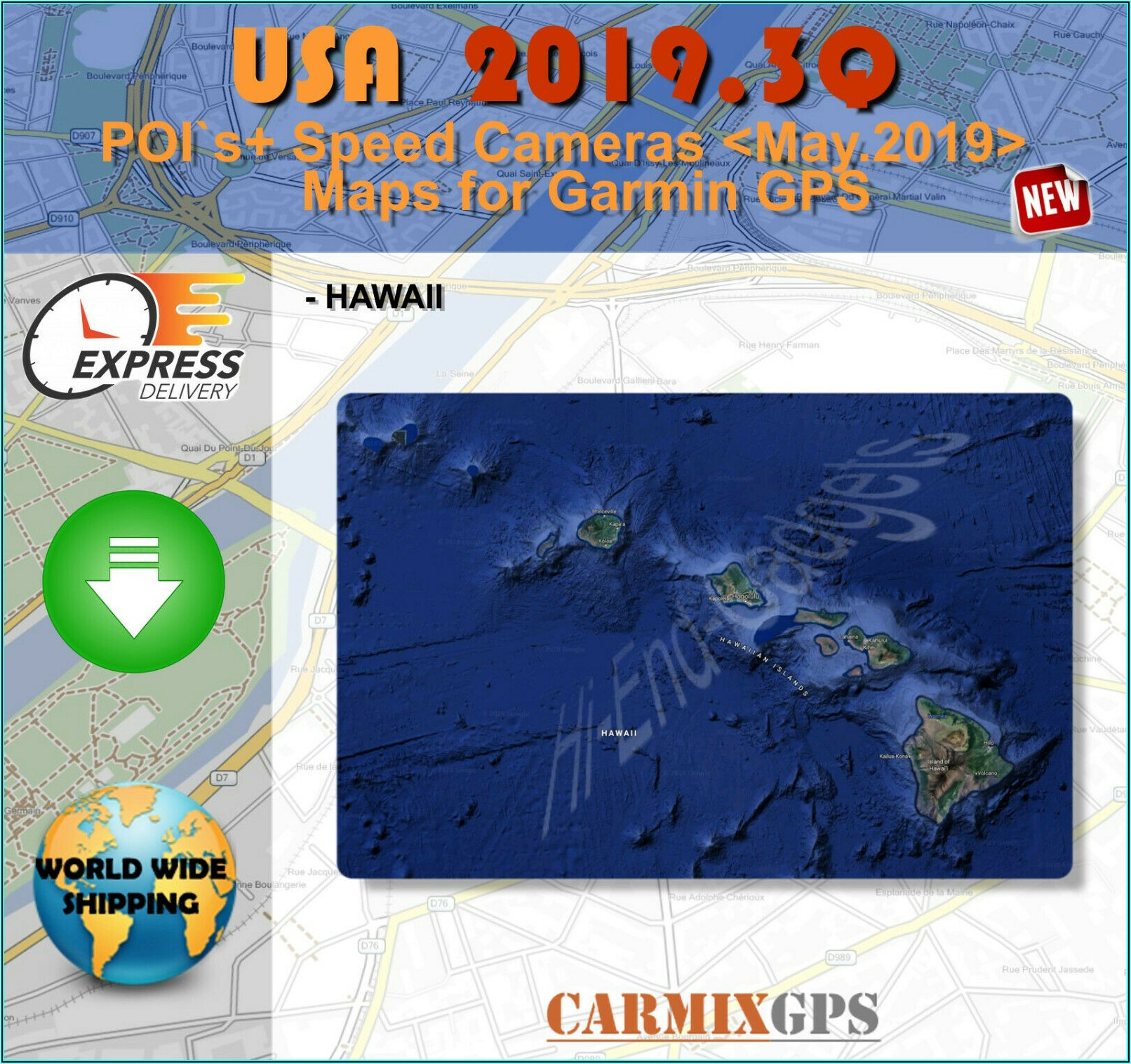 Garmin North America Maps 2019