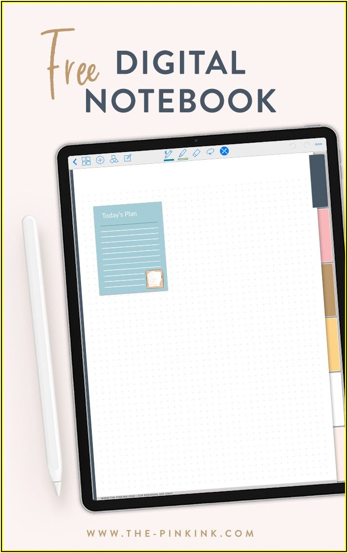 Good Notes Planner Template