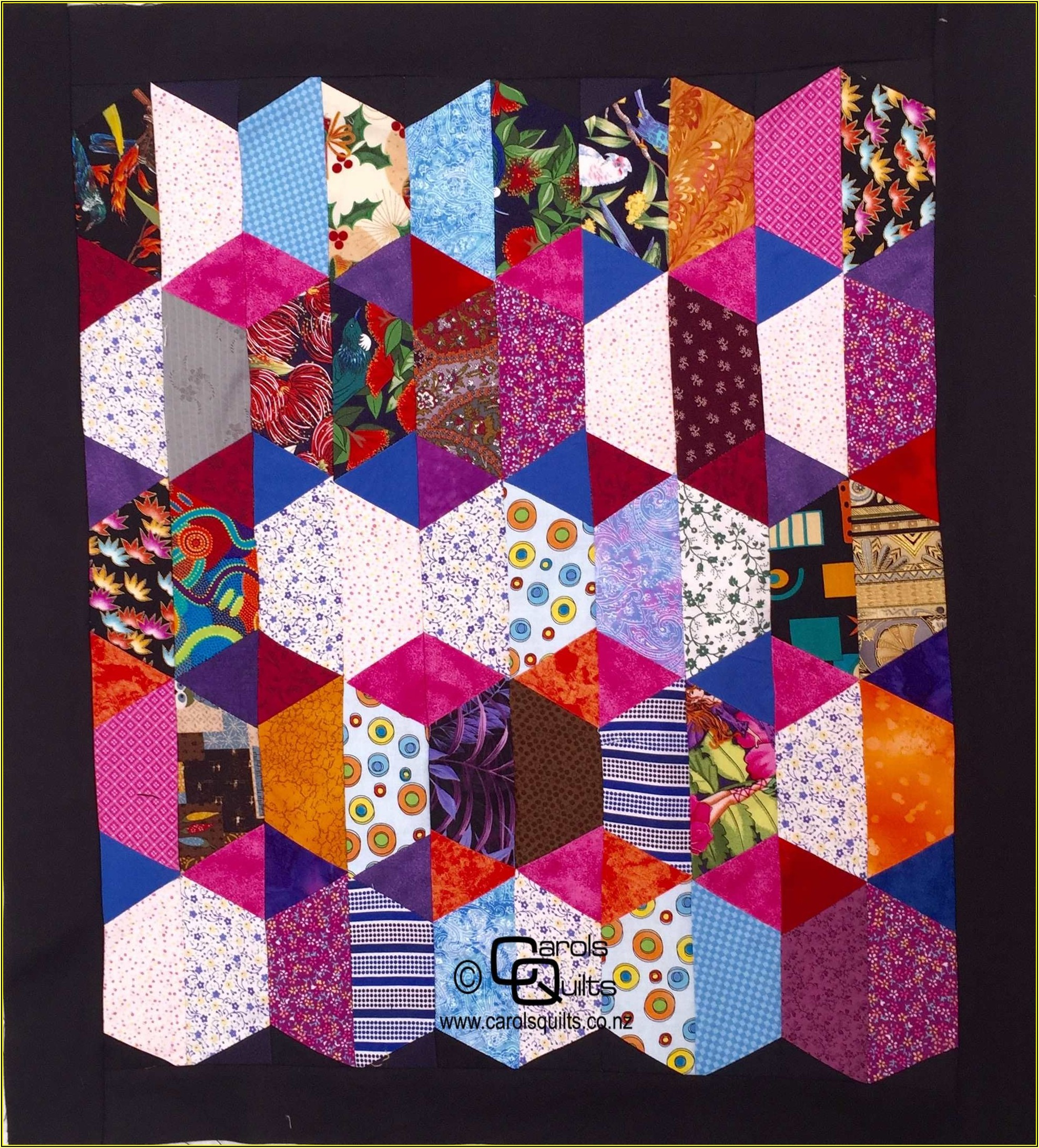 Hexagon Quilt Template Free