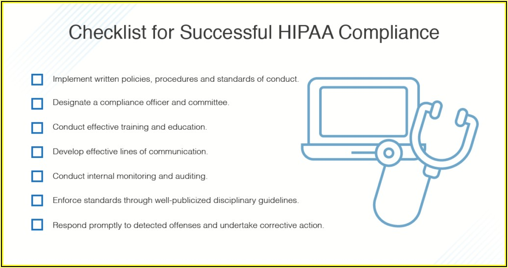 Hipaa Compliance Policies And Procedures Templates