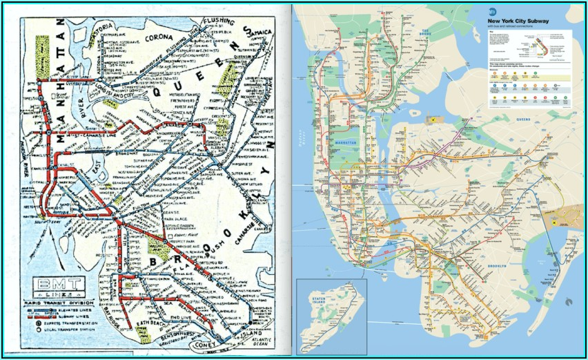 History Of Nyc Subway Maps
