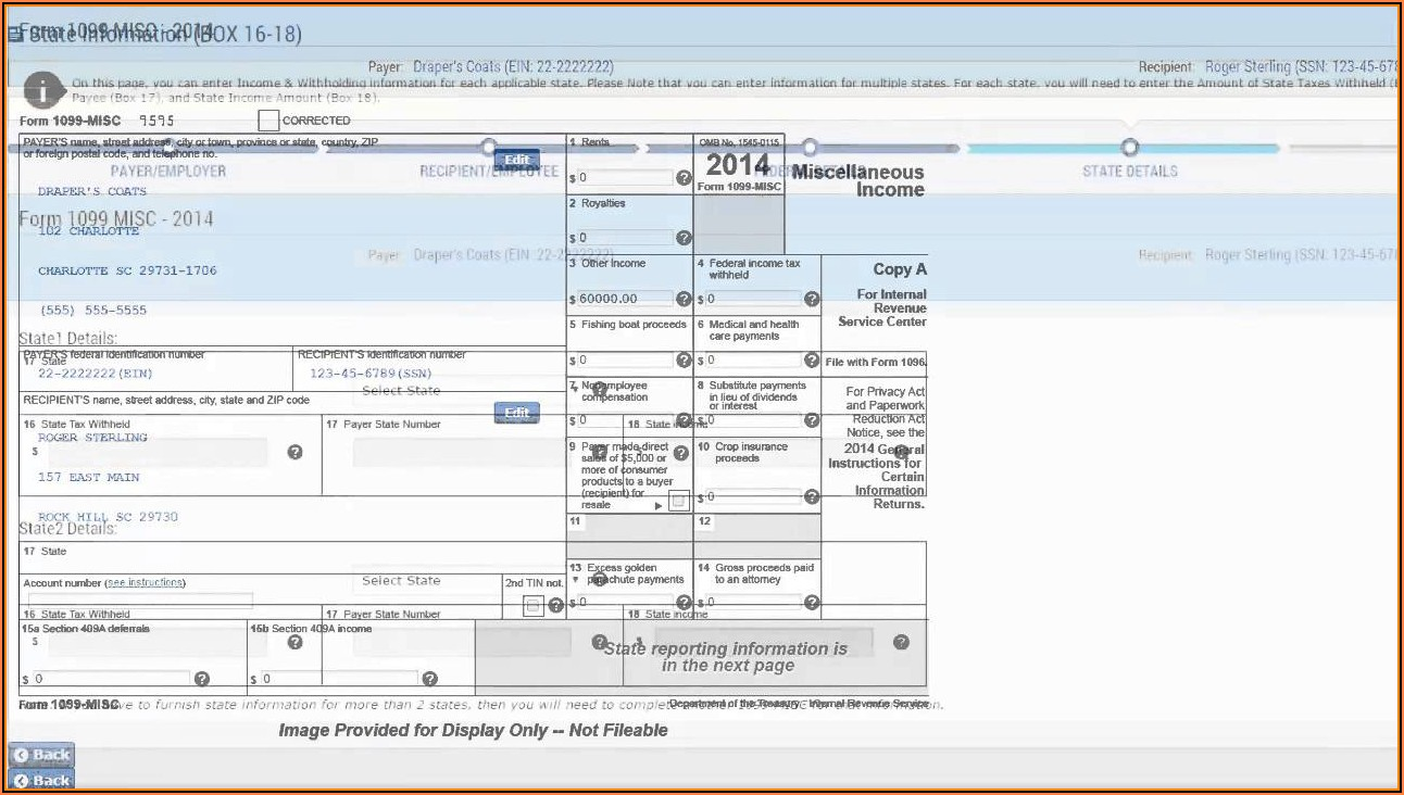 How To Fill Form 1099 Misc