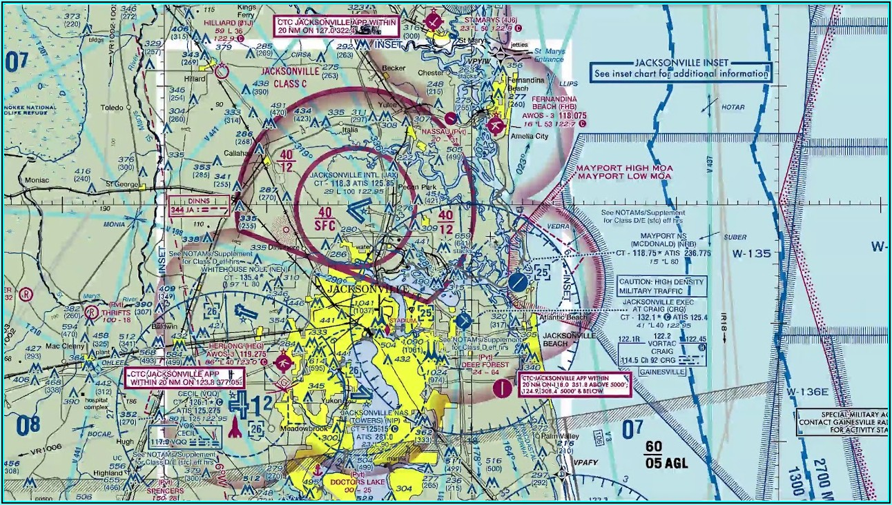 How To Read Aviation Sectional Maps