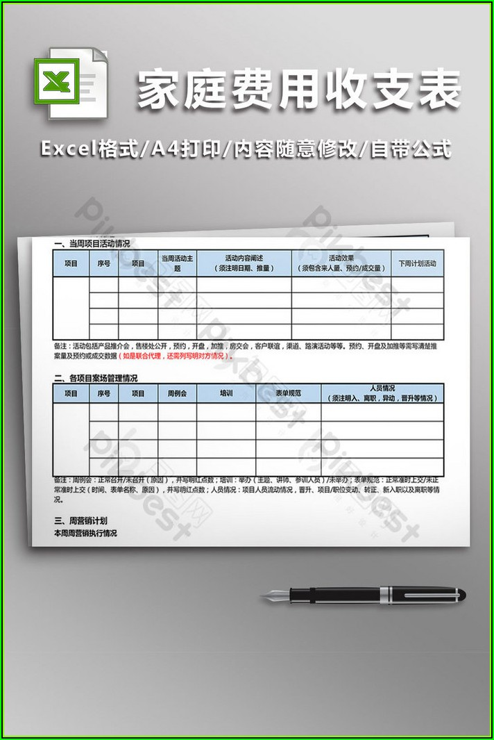 Income And Expenditure Statement Template Free Download