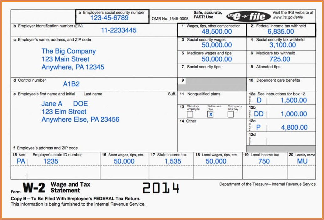 Income Tax Calculator Printable Forms