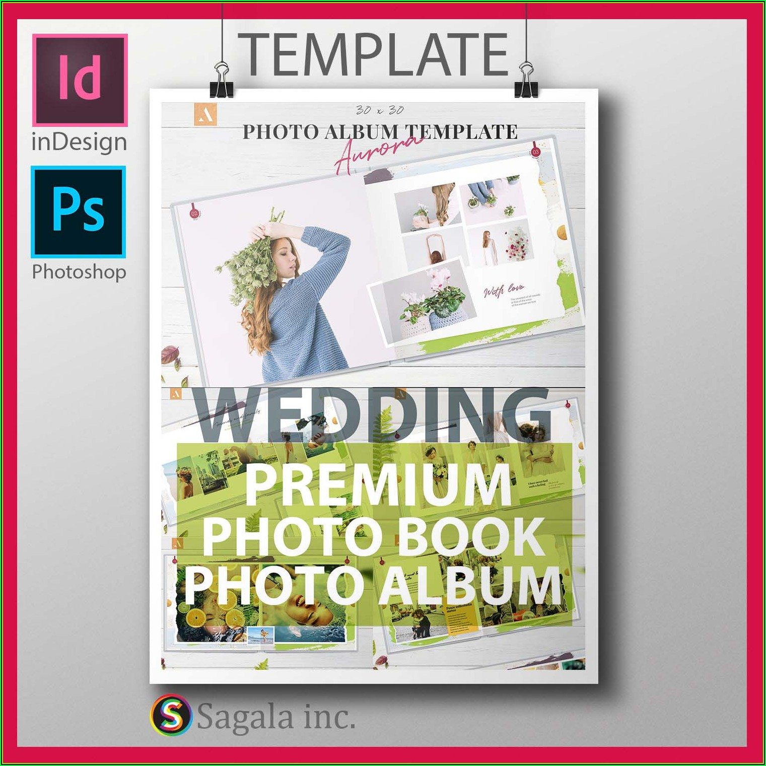 Indesign Photo Album Template