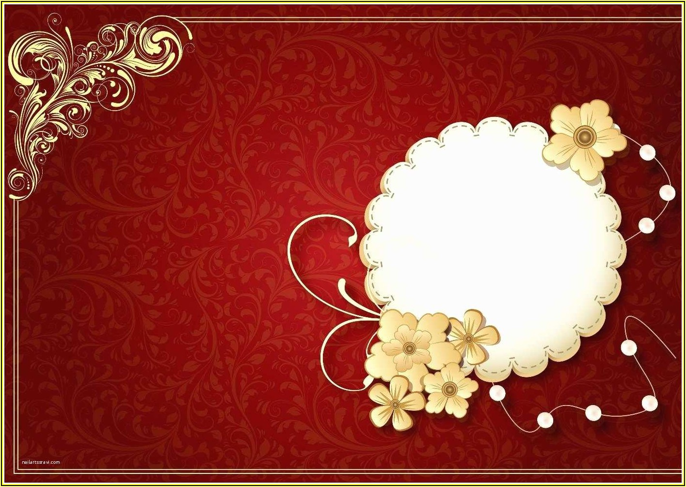Indian Wedding Invitation Card Template Free